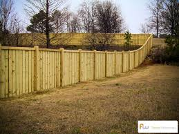 The Avalon Custom Board On Board Wood Privacy Fence Building A Fence Backyard Fences Fence Design