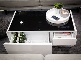 sobro coffee table charges phones
