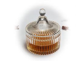 candy jar storage glassware custom logo
