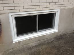 how to replace basement windows with