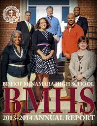 Annual Report 2013 2014 by Bishop McNamara High School - issuu