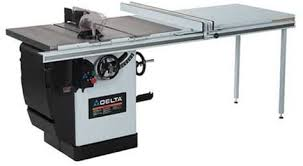 Delta 36 831la 10 Inch Left Tilt 3 Horsepower Cabinet Saw With 30 Inch Biesemeyer Fence 1 Cast Iron Extension Wing Table Board Leg Set 230 Volt 1 Phase Power Table Saws Amazon Com