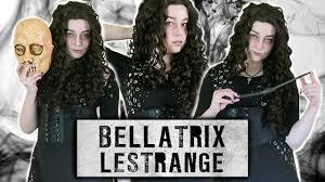 how to make a bellatrix lestrange dress