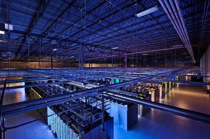 eines von vielen Rechenzentren von Google