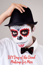 day of the dead makeup for mens