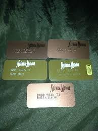 vine neiman marcus credit card