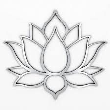 xl lotus flower metal wall art