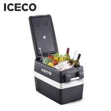 ICECO JP40 Di Động Tủ Lạnh Di Động Tủ Lạnh Di Động Tủ Đông 12V Ngăn Mát Tủ  Lạnh, 40 lít Nhỏ Gọn Tủ Lạnh có Secop Máy Nén, dành cho Xe