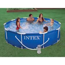 10 ft x 30 in round above ground pool