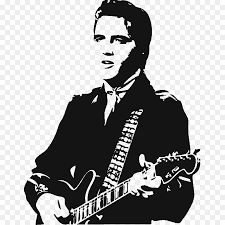Elvis Presley Stencil Mural Wall Decal Silhouette Colored Arrows Stickers Png Download 1000 1000 Free Transparent Png Download Clip Art Library
