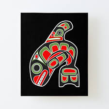 Native Whale Wall Art Redbubble