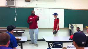 Byron Embry Teaches Baseball Fundamentals - YouTube