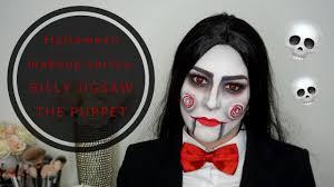 halloween makeup series billy jigsaw