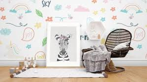 Safari Nursery Wall Art Baby Zebra Animal Print Baby Room Etsy