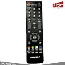 Điều khiển Remote Tivi Asanzo mẫu 1