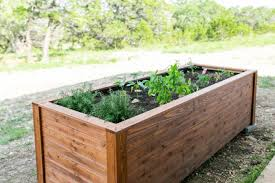 project of the week raised garden bed
