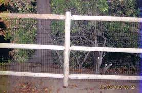Post Rail Cost Effective Fence Fence Installation