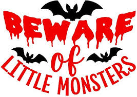 Amazon Com Halloween Vinyl Decal Beware Of Little Monsters Bat Vampire Ghost Witch Haunted House Permanent Spooky Monster Swell Bottle Sticker For Water Bottle Coffee Mug Laptop Decal Wine Glass Handmade