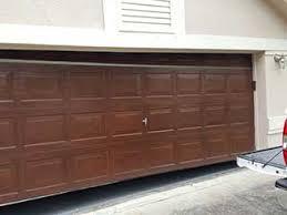 garage door not closing fully