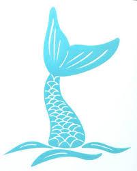 Mermaid Tail Decal Mermaid Decal Car Decal Yeti Decal Etsy Mermaid Decal Mermaid Tail Drawing Mermaid Drawings