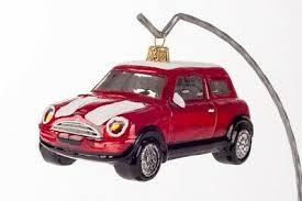 novelty handmade gl car mini cooper