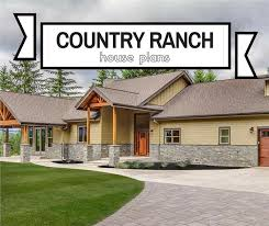 country ranch house plans rustic