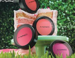 mac cosmetics flamingo park spring