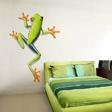 Tree Frog Wall Decal Great For Any Kids Space Frog Wall Decals Frog Wall Art Cool Walls
