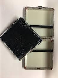 designer cigarette case leather look