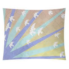 Ebern Designs Fawcett Birds and Sun by Katelyn Smith Tapestry | Wayfair