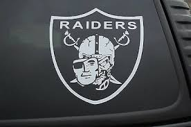 Raiders Skull Mask Sticker Vinyl Decal Nfl Raider Nation Car Choose Size V390 Ebay