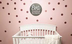 Polka Dot Wall Decals Tags Project Nursery