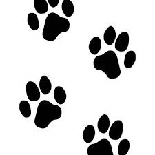 Dog Paw Print 1 Vinyl Sticker
