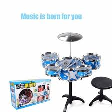 qoo10 gift drum set kit