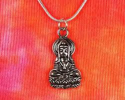 quan yin necklace 16 36 snake chain