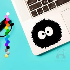 50 Off Soot Sprite Car Decal Soot Gremlins Window Or Etsy