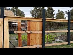 8 Foot Fence Construction Fence Post Columns Creative Fencing Youtube