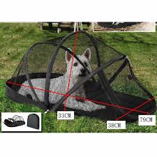 Folding Dog Cage Portable Pet Dome Polyester Outdoors Folding Dog Cage Fence Pet House Tent Dome For Small Cats And Dogs Houses Kennels Pens Aliexpress