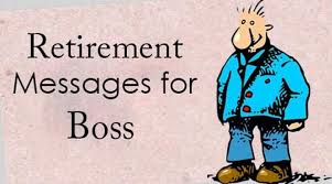 retirement wishes for boss retirement card messages