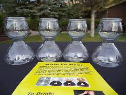 shot glasses 24 quaffer shot plastic
