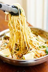 garlic er shrimp pasta quick