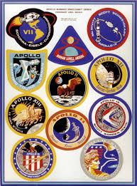 Apollo Mission Patches Nasa Solar System Exploration