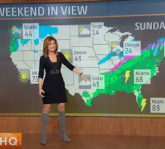 THE APPRECIATION OF BOOTED NEWS WOMEN BLOG : WEATHER CHANNEL FANS  REJOICE!!!! JEN CARFAGNO LOOK... | Hottest weather girls, The weather  channel, Weather