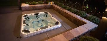 custom in ground hot tubs spas