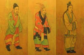 7th century Tang dynasty Drawing of Envoys from South Korea image ...