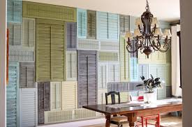 upcycled window shutters diy