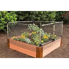 Stack Extend Animal Barrier Fencing In 2020 Garden Netting Garden Fence Panels Raised Garden