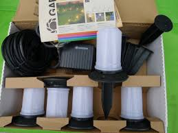 low voltage garden lights lawn lamp kit