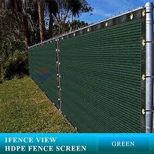 Ifenceview 4 X5 To 4 X50 Green Shade Cloth Fence Privac Https Www Amazon Com Dp B077ndnhkh Ref Cm Sw R Pi Dp U X Green Fence Pergola Green Construction