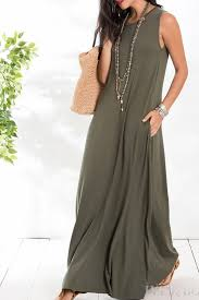 Women's dress ADRIANA, Price € 17.79, Colour: olive green | Fast shipping